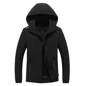 Wholesale Coats Mens Hoodies Adult 100% Cotton Sports Coats Mens And Womens Pure Color Hoodies Size L-4XL Winter Coats Spring Autumn hf61219