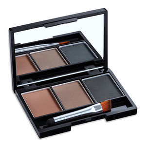 Wholesale brow palettes for sale - Group buy hot Waterproof colors Eyebrow Powder Palette brush mirror Anti sweat lasting Color eyebrow powder Eye Brow Kit