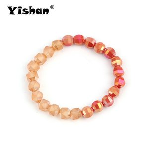 Wholesale Yishan Gradient Color Beautiful Bracelets For Women Girl Trendy Creative Jewelry Accessories Party Gifts Bijoux EY6247