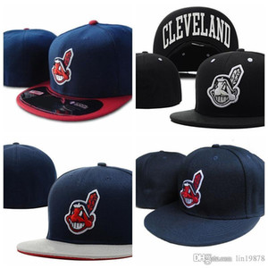 Wholesale men's baseball caps for sale - Group buy 2019 Indians gorras bones Baseball caps cotton men s women sun hat fashion sports Fitted Hats