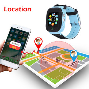 Wholesale Beautyss Smart Electronics Q528 Smart Watch with GPS GSM Locator Screen Tracker SOS For Children Smartwatch Kids Russian