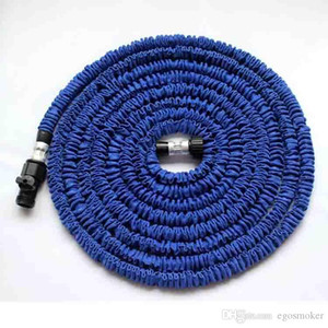Wholesale spray hose expandable 75ft resale online - Expandable Garden Hose Garden Hose Sprayer FT FT For Car Magic Flexible Garden Hose Pipe Set To Watering With Spray Gun Green