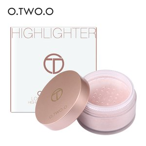 Wholesale O TWO O High Gloss loose concealer brighten skin tone highlight repair Makeup Contour Eye Loose Glitter Gold