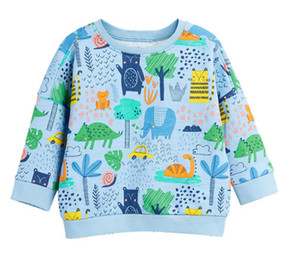 New classic Designer Kids Floral Pullover Sweater coat jacekt hoodle sweater olde Suit Kids Children's Cotton Clothing Sets SWEATER on Sale