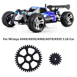 Wholesale 2019 New Metal Reduction Gear Motor Gear For Wltoys A949 A959 A969 A979 K929 RC Car