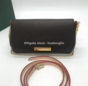 High Quality Women Bag Clutch purse Genuine Leather favorite sale discount mixed order wholesale checkers plaid flower