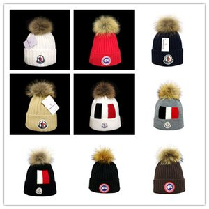 newest Winter unisex Caps brand Canada CA men fashion knitted hat classical sports skull caps Female casual outdoor man Women goose beanies on Sale