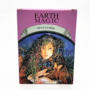 Wholesale Magic Oracle Cards Earth Magic Read Fate Tarot Card Game for Personal Use Board Game A card