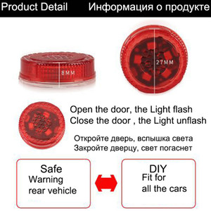 Wholesale 4PCS Professional Car Door Warning Light LED Universal Waterproof Anti collision Durable Colorful Warning Light