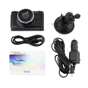 Wholesale 3 quot Full HD P Car DVR CCTV Dash Camera Degree Wide Angle Lens G Sensor Vehicle Video Cam Recorder Support TF Card