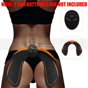 2018 Electric EMS Hip Massage Muscle Stimulator Trainer Anti Cellulite Rechargeable Buttock Lifting Enhancer Tone Up Massager Device
