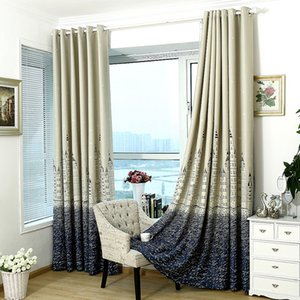 Window Treatment Castle Modern Blinds Silver Stamping Heavy Thick Blackout Living Room Bedroom Insulation Curtain Home Decor on Sale