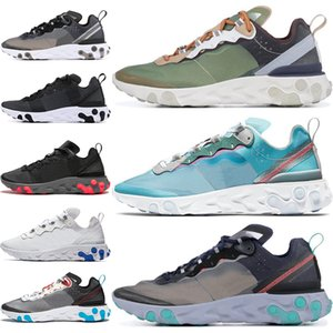 Wholesale 2020 React Element Undercover Men Women Running Shoes Royal Tint black Desert Sand Blue Chill Designer SE Taped Seams Sneakers