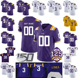 Wholesale dalton jersey resale online - CUSTOM LSU Tigers Football Jersey Morris Claiborne Bert Jones Joseph Addai Dalton Hilliard Jacob Hester Marcus Spears Brandon LaFell