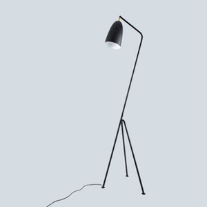 Modern Minimalist Industrial Floor Lamp Standing Lamps for Living room Reading Lighting Loft Iron Triangle Floor Lamp LED e27