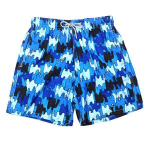 1 pecs new mens Beach Shorts Swimwear octopus starfish Turtle printing male Bathing Shorts Quick drying