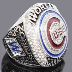 Chicago Championship Ring Men Jewelry Accessories Bear Ring Fans Award Collection Souvenir Baseball Champion