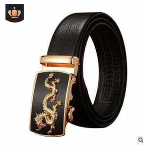 Wholesale 2019 Summer Style Hot Sale Men Fashion Casual Cow Genuine Leather Belt Men Automatic Buckle Strap Belts For Men Nice Quality