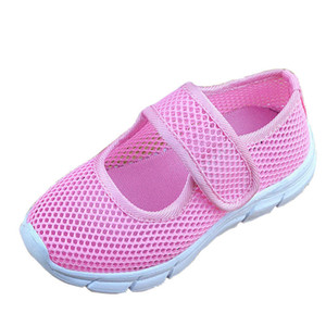 Wholesale 2019 New Color. Children Breathing Girl Casual Girls Kids Sport Shoes Footwear Sports Shoes Children's Unique Mesh Ladies Shoes