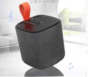 Wholesale 2019 Fabric Bluetooth Speaker Support OEM Logo TF Card FM High Quality Stereo Portable Wireless Speaker