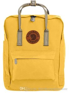 Wholesale Daily Canvas Backpacks Fjallraven Cortical Hand Yellow Children Bags Waterproof Comfortable Backpacks Lightweight Large Capacity Outlet