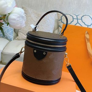 Wholesale belt buckets resale online - Fashion Women Belt Bags Classic Bucket Bag Crossbody Handbag Ladies Shoulder Purse Floral Handbags High Quality Bag