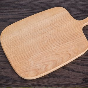 Wholesale Home Wooden Cutting Board Kitchen Chopping Block Wood Cake Sushi Plate Serving Trays Bread Fruit Pizza Tray Baking Tool
