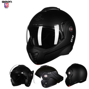 Wholesale 180 matte black Flip Motorcycle Helmet Open Full Face Helmet with Detachable And Washable Lining Suitable For Adults Colors