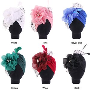 Tatyking New Mesh Feather Flower Headband Hat Fashion Party Hat Vintage Indian Hat Headband for Woman Head Wear PH0201