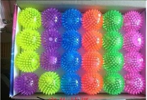 Wholesale Club LED Flashing Ball Music Bounce Balls light up bouncing ball Party Dancing ball christmas products