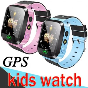 Wholesale Smart Watch Q528 Children Wrist Watch Waterproof Baby Watch with Remote Camera SIM Calls GPS Gift for Kids dz09 M05 XCTE Packs
