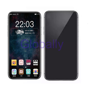 6.5inch Goophone XS MAX Quad Core MTK6580 Smartphone 1GB 16GB Show Fake 256G 4G lte Face ID Unlocked Cell Phone