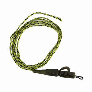 Wholesale Carp Fishing Line Ready Tied Lead Core Leaders IB Leadcore With Quick Change Swivel PE Braided Line with lead Camo Green