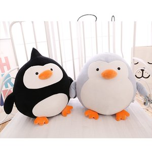 Wholesale New Sale Plush penguin Stuffed Pillow Cushion Cute For Girls Gift Toy Doll Stuffed Plush Animals toys