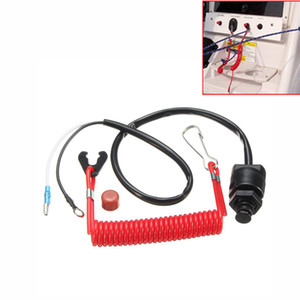 Wholesale boat kill switch resale online - Outboard Cut off Boat Motor Emergency Kill Stop Switch Safety Tether Lanyard For Yamaha for Outboard Motors Stop Engine Protect