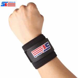 Wholesale ShuoXin SX501 Classic Sports Elastic Stretchy Wrist Joint Brace Support Wrap Band Protectors Guard For Wrist
