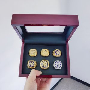 Wholesale 2019 Baseball Yankees New York World Championship Ring with Wooden Display Box Set Men Fan Gift Drop Shipping