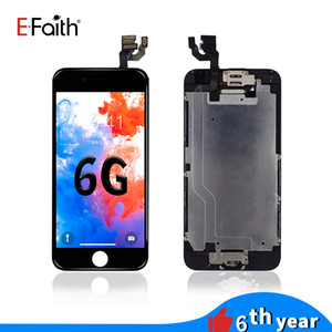 EFaith LCD Display for iphone 6 6s &Touch Screen Digitizer full set Assembly with camera+home button flex cable+Earpiece Speaker+plate