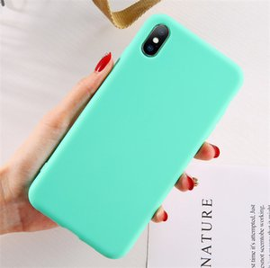 Wholesale New Arrived Fashion colorful phone case for iPHONE xsmax xs x xr iphone plus plus splus universal cell phone case Korea style