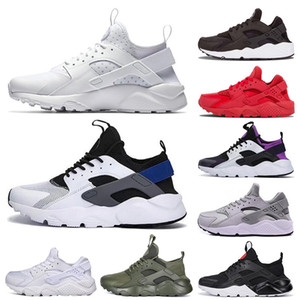 Wholesale New Huarache mens womens Running Shoes Triple White Black red grey Huaraches Outdoor Runner sport Trainers Sneakers
