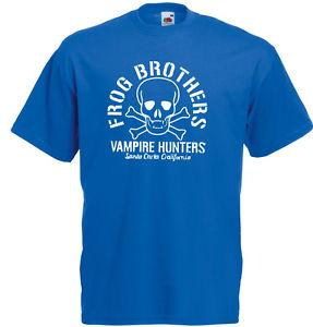 Frog Brothers Vampire Hunters The Lost Boys Inspired Men's Printed Newft T-Shirt