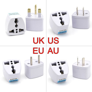 Universal Power Adapter UK US AU to EU AC Electrical Power Socket Plug Travel Charger Adapter Converter for Plugs Australia Europe Japan USA