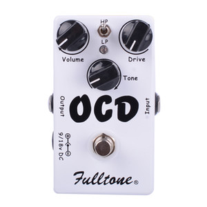 Wholesale CLONE OCD Obsessive Compulsive Drive Overdrive Distortion Guitar Effect Pedal Two mode selection (HI LOW) And True Bypass Free Shipping