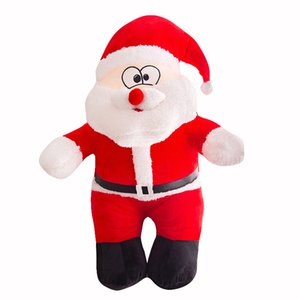 Wholesale Christmas Plush toys cartoon Santa Claus Stuffed Animals 25cm for children Xmas gift C5249