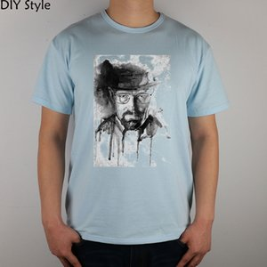 Heisenberg Walter T-shirt Top Lycra Cotton Men T shirt New DIY Style