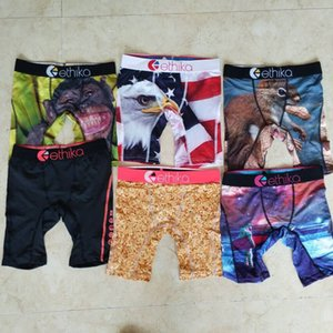 Promotion !!Random styles Ethika Kid's boxer underwear sports hip hop rock excise underwear skateboard street fashion quick dry Cotton on Sale