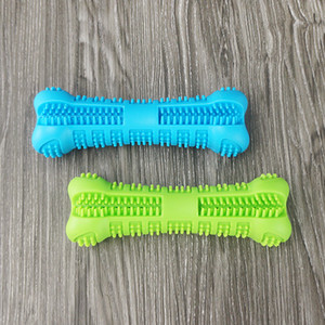 Wholesale Pet Dong Chew Toys Dog Toothbrush Toys Cleaning Tool Cheap Price Pet Silicone Toothbrush for Dog
