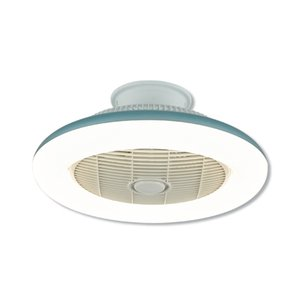 LED suction Wind Fan lamp modern simple living room bedroom restaurant ultra-thin with fan all-in-one fan lamp on Sale