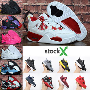 Wholesale WithStockX Jumpman Kids basketball shoes Children Retro jordan Gym Red Chicago Boy Girls s luxury Athletic sneakers EUR
