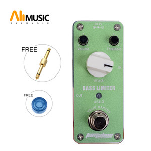 Wholesale bass pedals for sale - Group buy MINI Bass Limiter Effect Pedal Aroma ABL guitar pedal AC DC Adapter Jack True bypass Volume Threshold attack Knob Pedal Switch